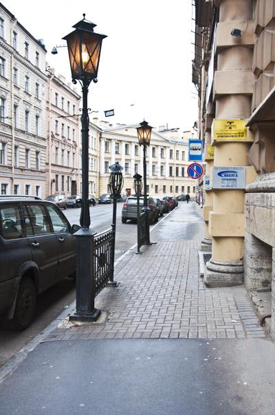 Улица любимого города
