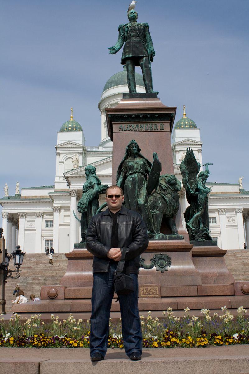 Хельсинки, Памятник Александру II