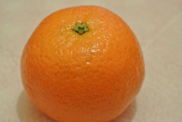 новогодняя мандаринка