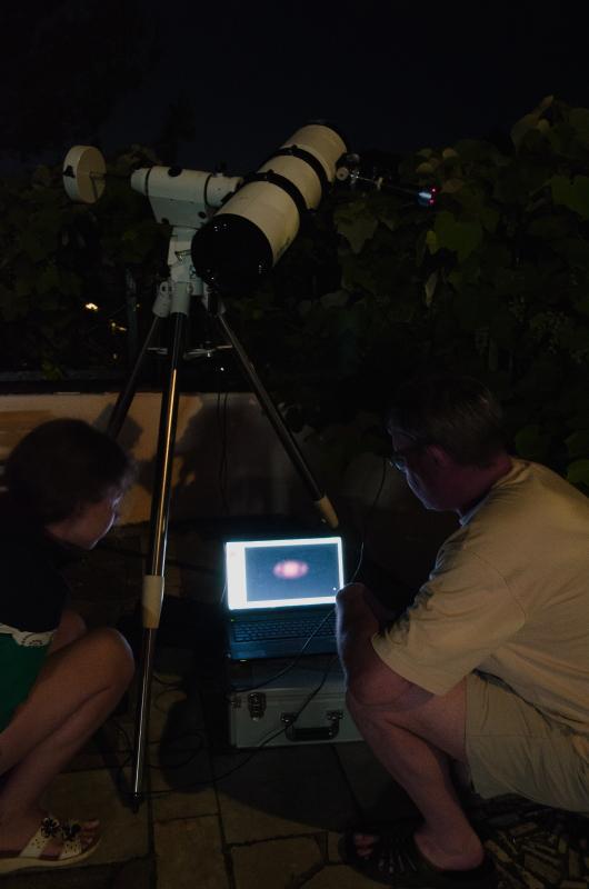 Снимаем Сатурн