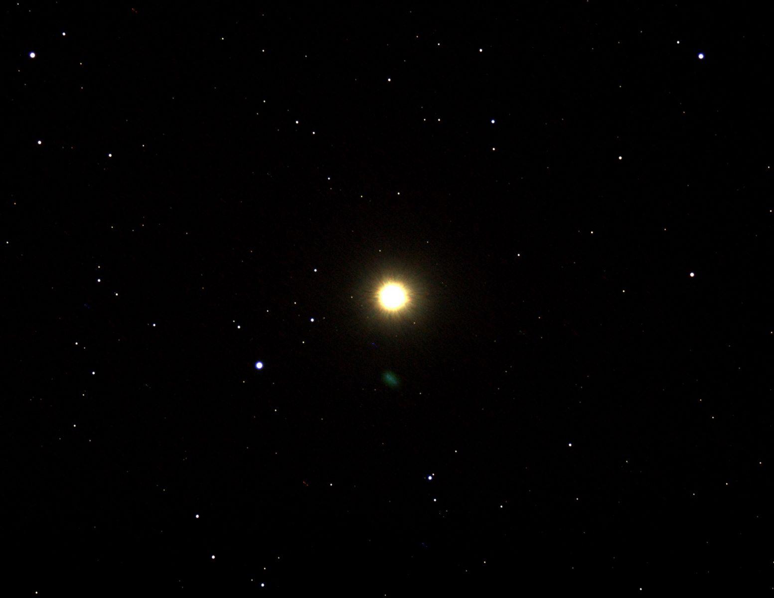 Арктур и комета C/2013 UQ4 (Catalina)