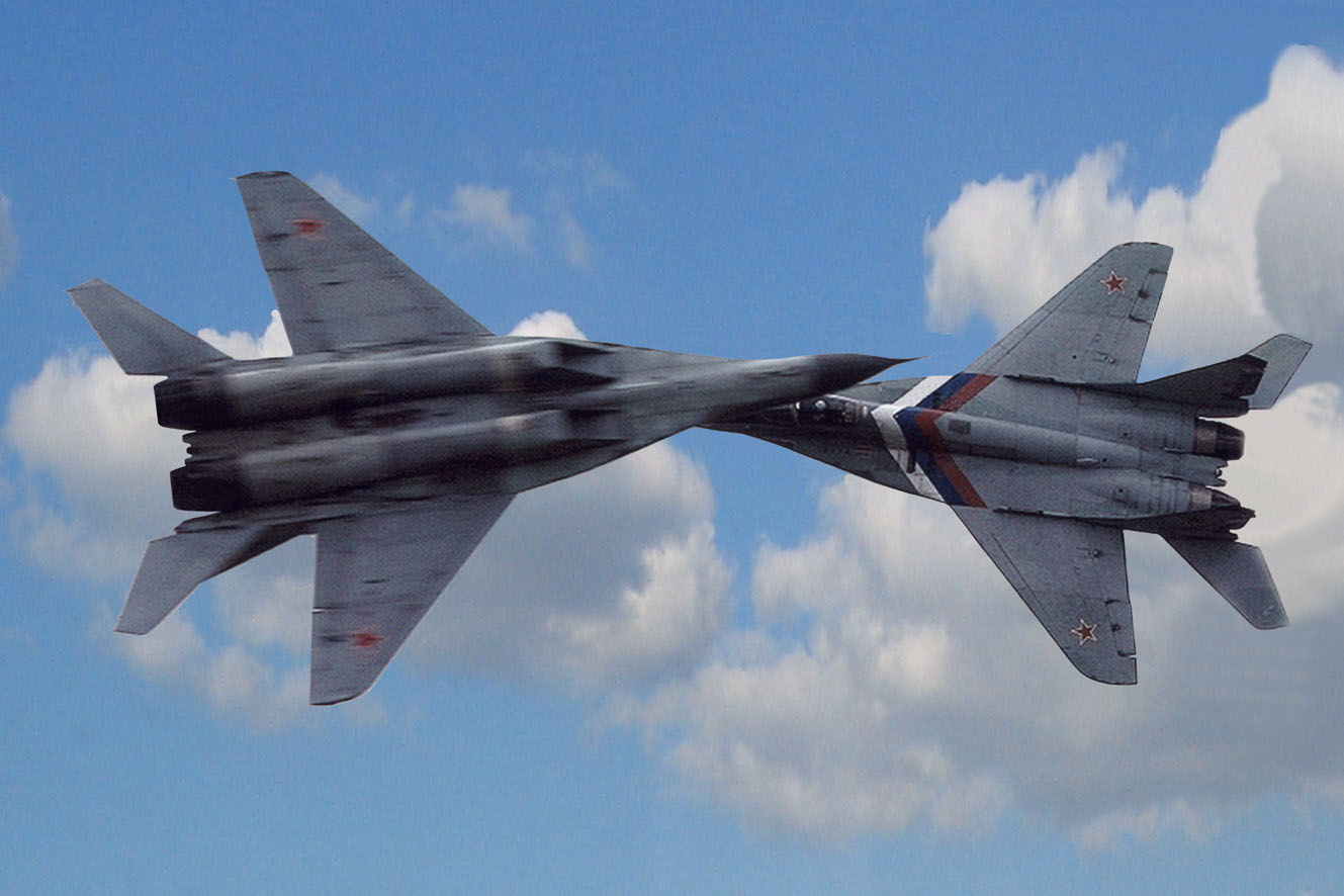 МиГ-29. Пара.