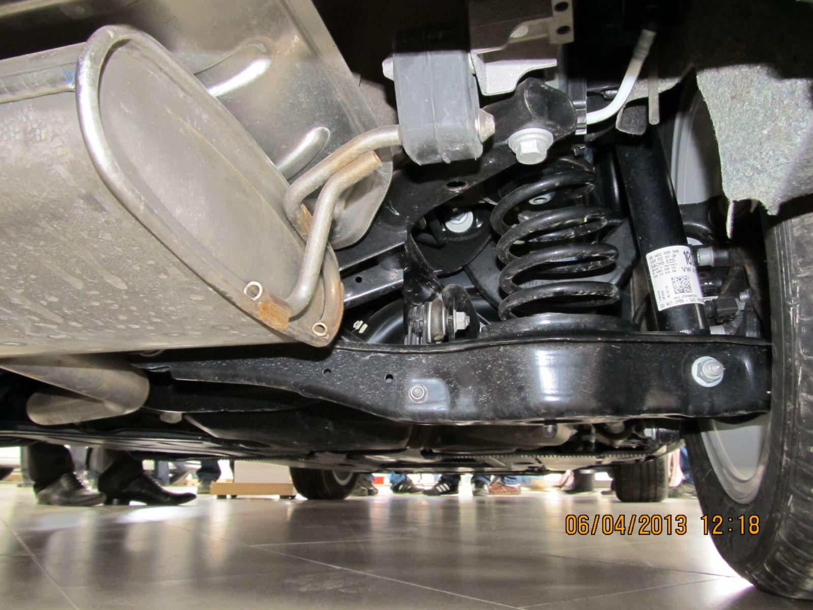 Golf-7 1,4 задняя подвеска