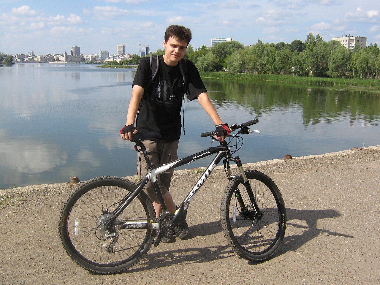 Старая велопрогулка
