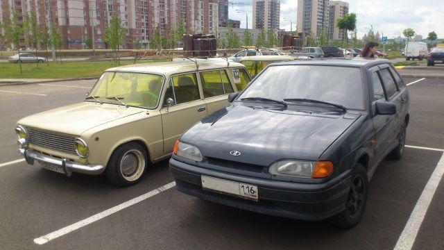 Моя машина рядом с казанской знаменитостью!