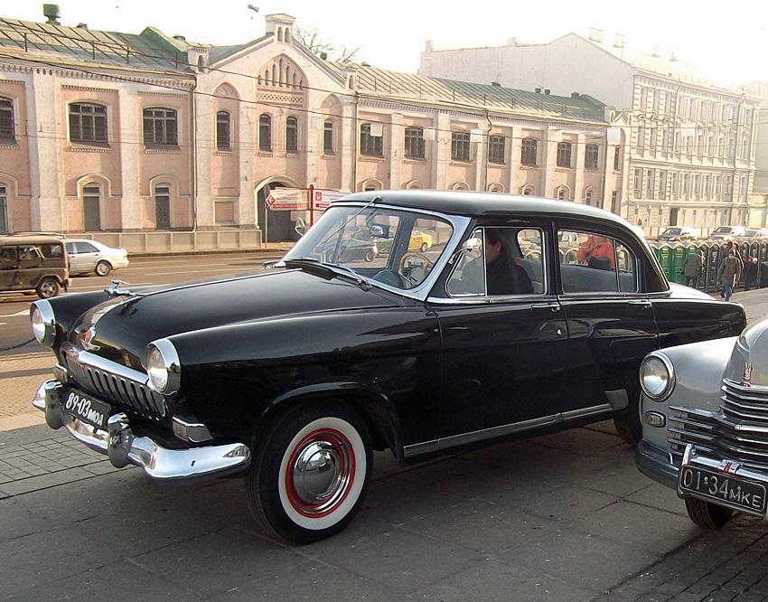 Волга ГАЗ-21 Вторая серия