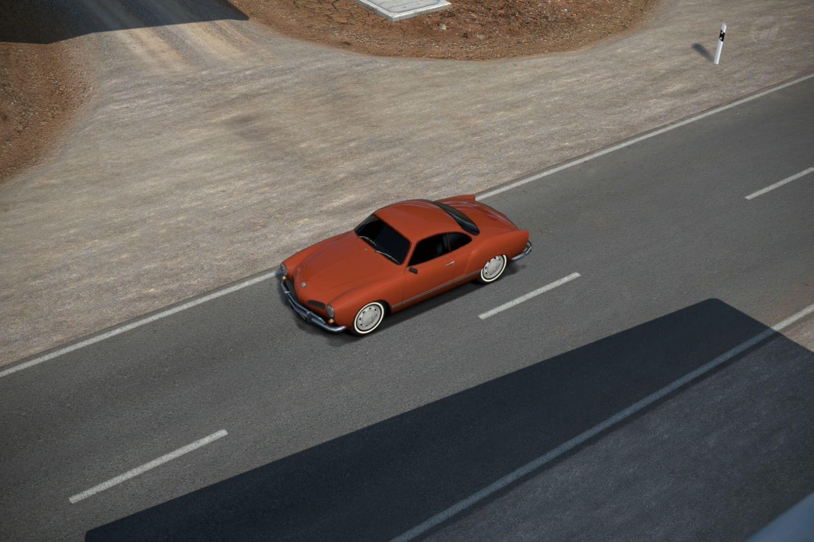 Карманн Гиа - VW Karmann Ghia - Gemasolar 8