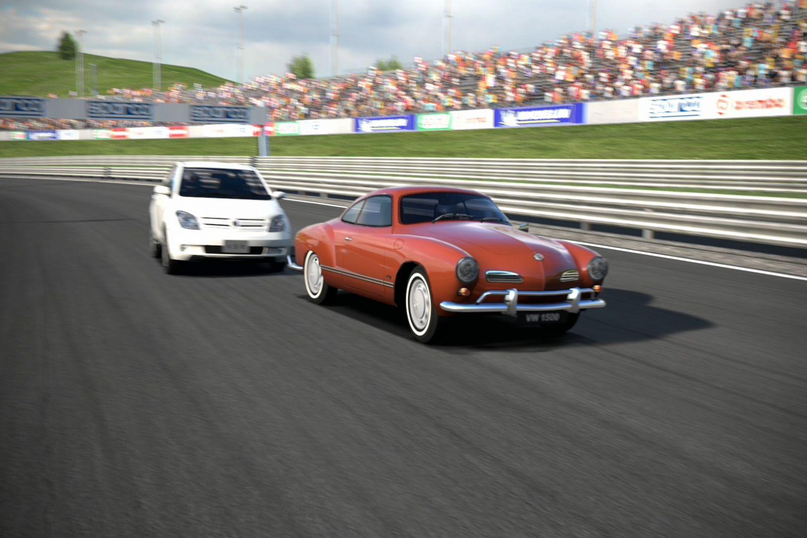 Карманн Гиа - VW Karmann Ghia - High Speed Ring 4