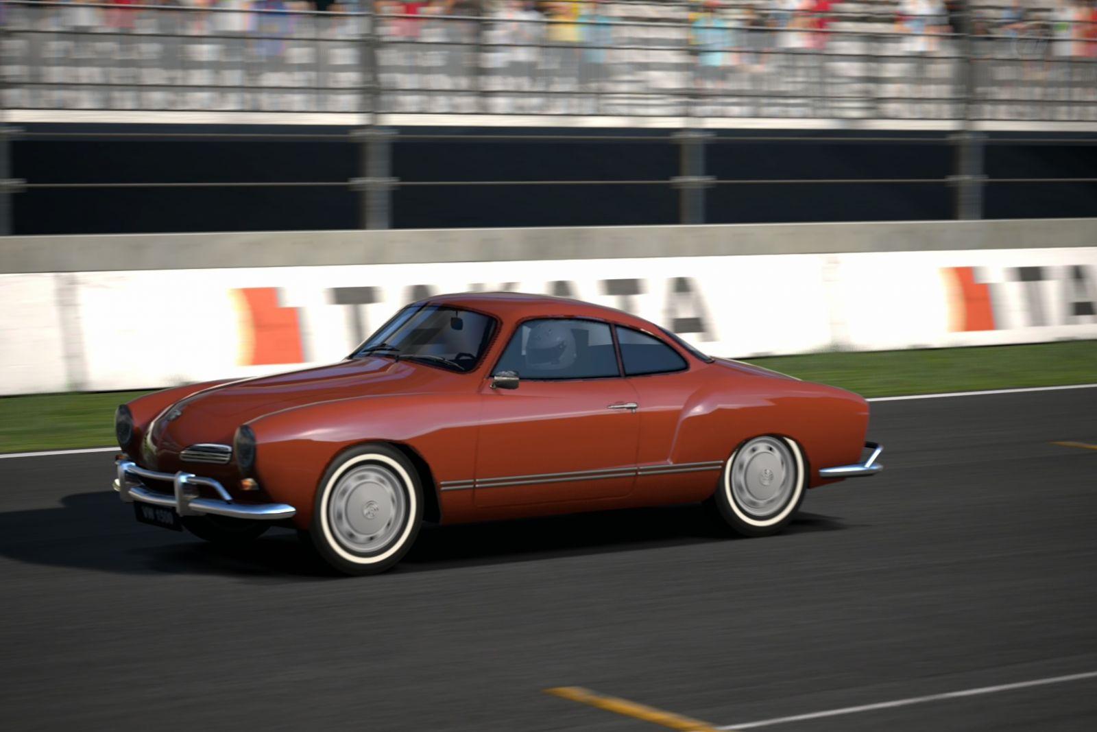 Карманн Гиа - VW Karmann Ghia - High Speed Ring 3